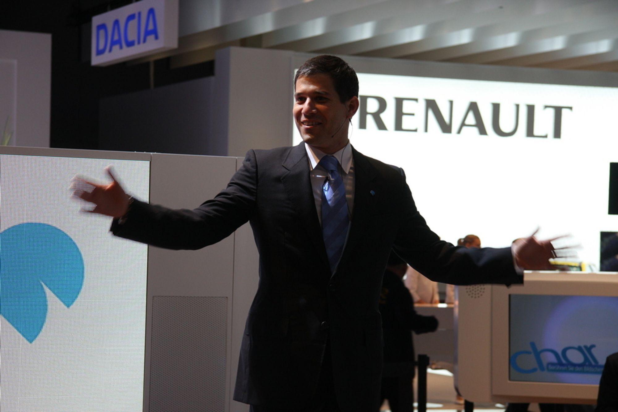 Better Place har ambisiøse planer og kjøper 100.000 biler fra Renault.