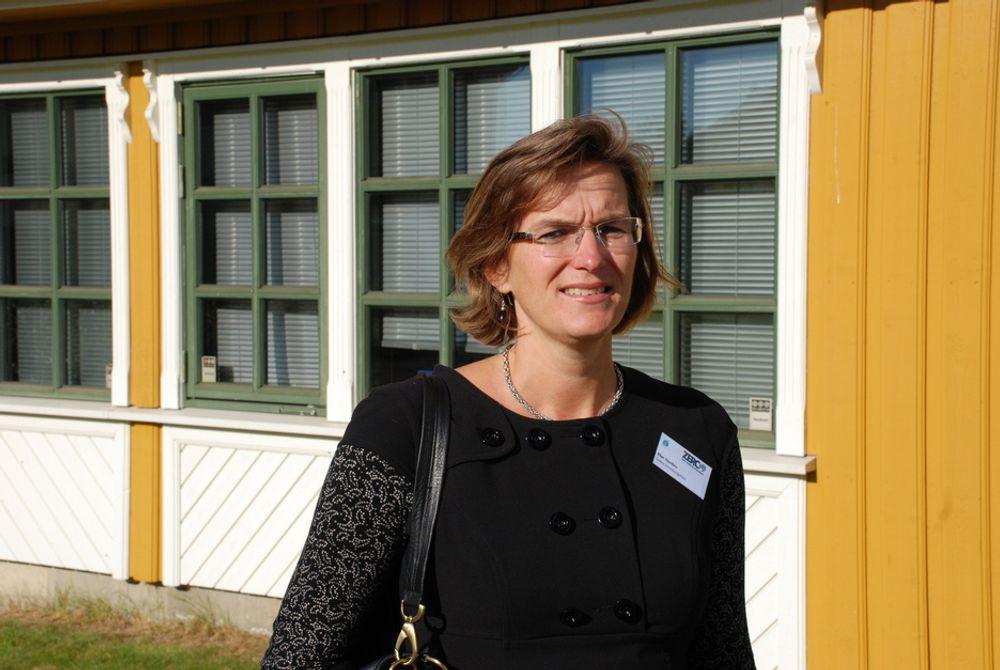 DEN NYE KLIMADIREKTØREN: ¿ Dette er kjempeflott og en stor ære, sier den nye klimadirektøren Ellen Hambro ifølge SFTs nettsider. Organisasjonen skal nå kalles Klima- og forurensningsdirektoratet.