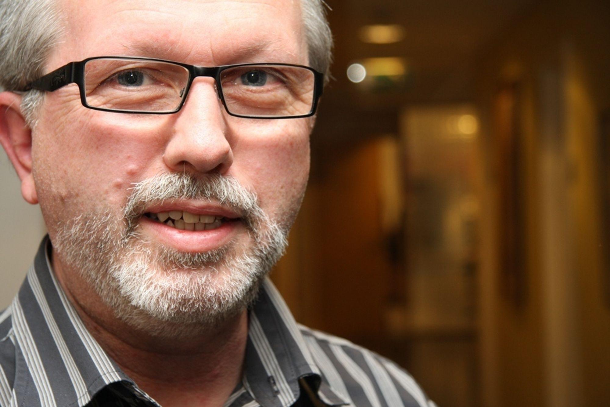 STABILT: Terje Drejer Sætervik er snart i mål med å få 30.000 e-postklienter i Oslo kommune over på en plattform skal være mer stabil enn dagens system.