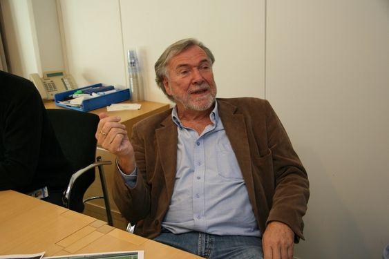 Sjefingeniør Terje Myrhaug, NCC Construction