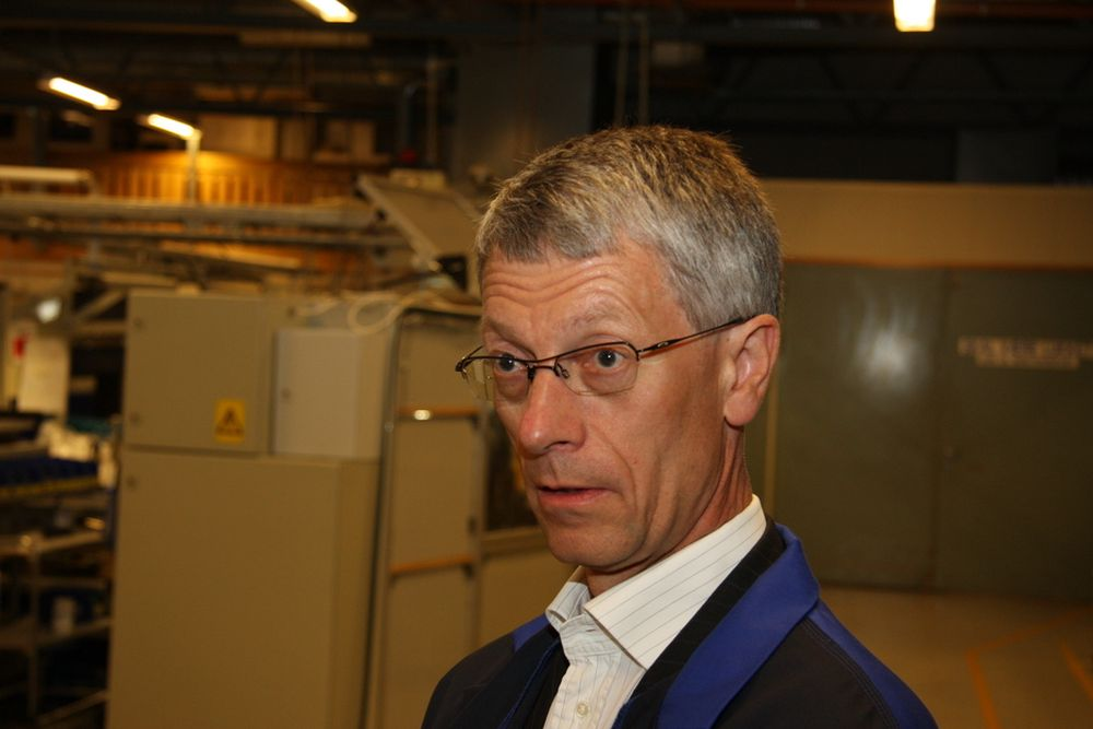 Olav Volldal, konsernsjef i Kongsberg Automotive