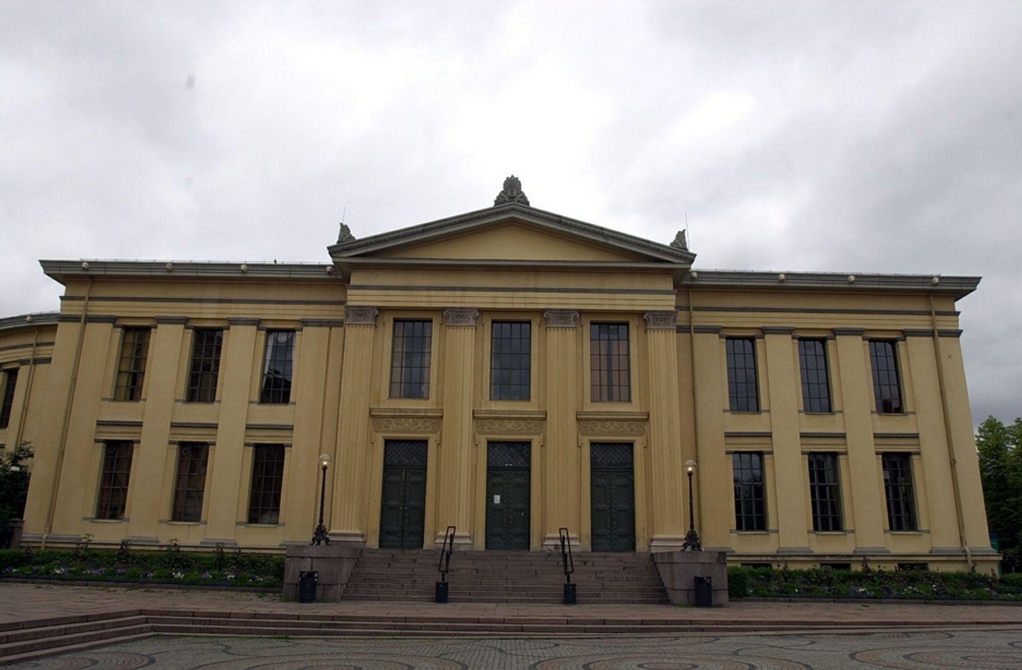NYTT: Universitetet i Oslo faller etter flere hyggelige rankingresultater på rad.