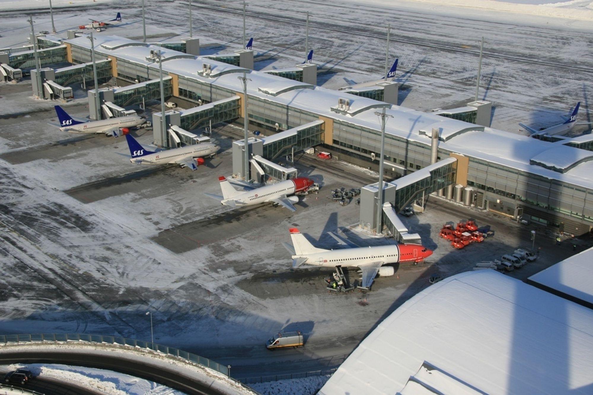Departementet har gitt Avinor lov til å utvide Oslo lufthavn Gardermoen med en ny terminal.