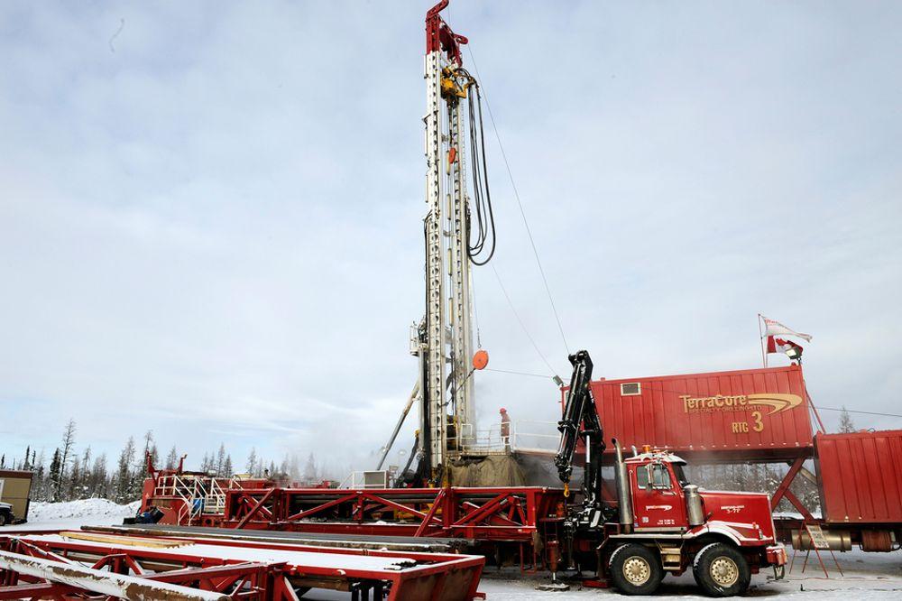 INJISERING: I Alberta skal StatoilHydro utvinne den tyngste oljen ved hjelp av dampinjeksjon. Metoden kalles Steam-Assisted Gravity Drainage (SAGD).