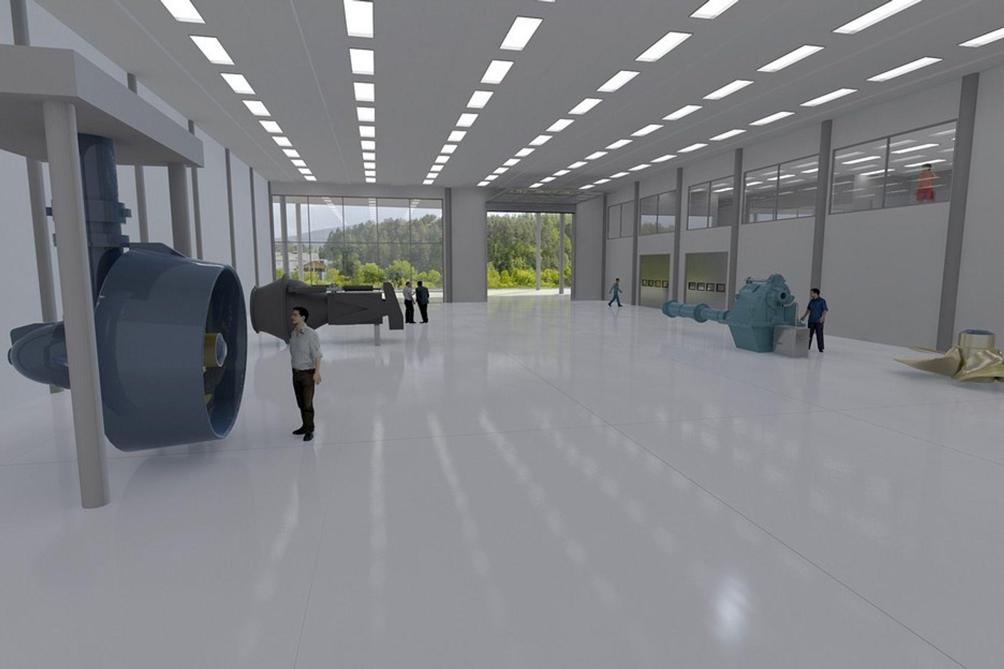 Rolls-Royce skal bygge nytt  trenings- og opplæringssenter for maritime aktiviteter i Ålesund. Det vil inngå i Norsk Maritimt Kompetansesenter og ligger ved siden av blant annet Høgskolen i Ålesund.
