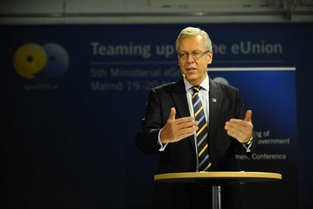 AMBISIØST: Offentlig forvaltning skal gå sømløst elektronisk over hele Europa innen seks år. - Ikke bare en luftig visjon, sier Sveriges kommunalminister Mats Odell.