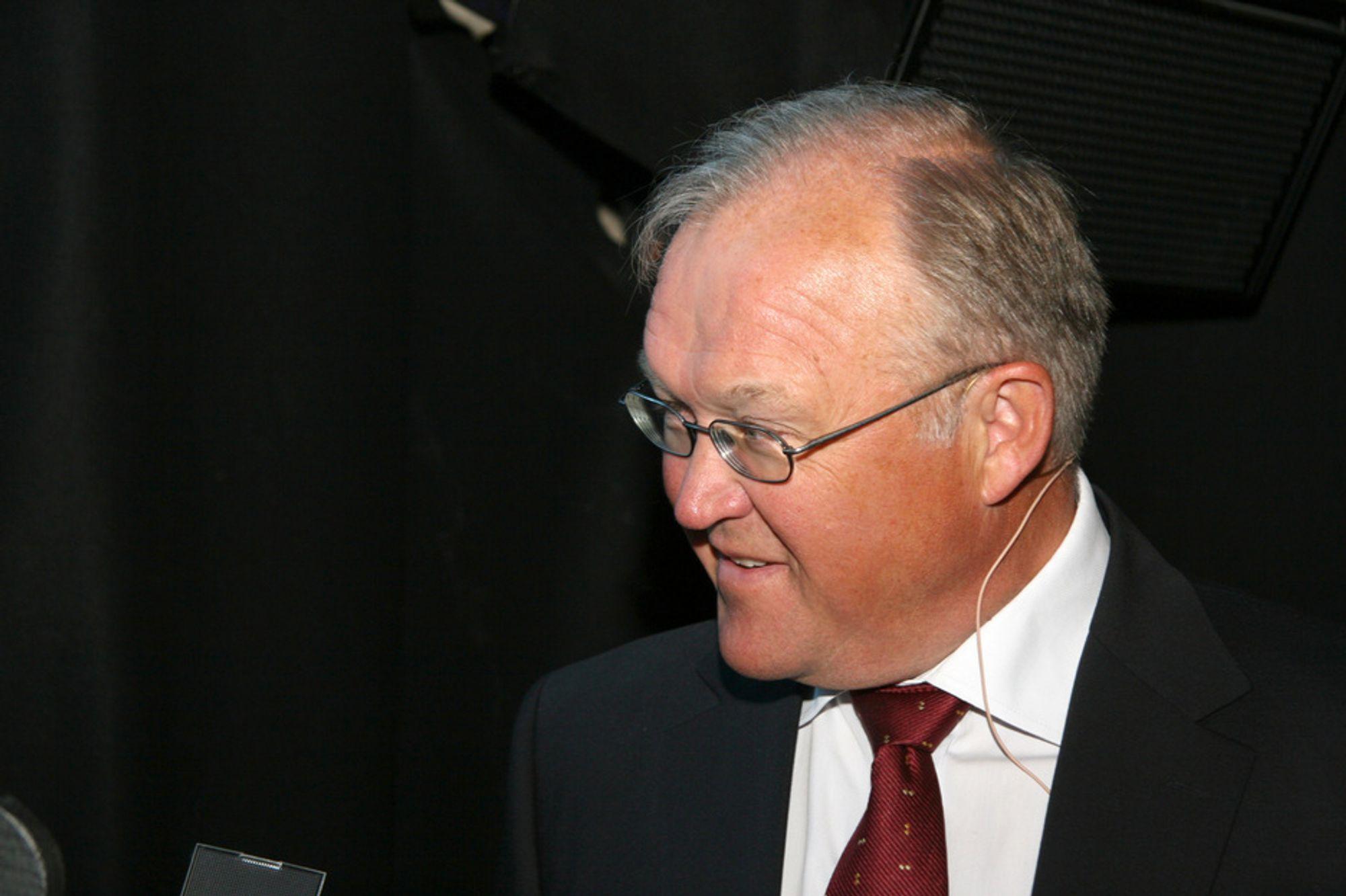Göran Persson er en av hovedattraksjonene under Nordiske Varmepumpedager. Han kom med klare råd til regjeringen.