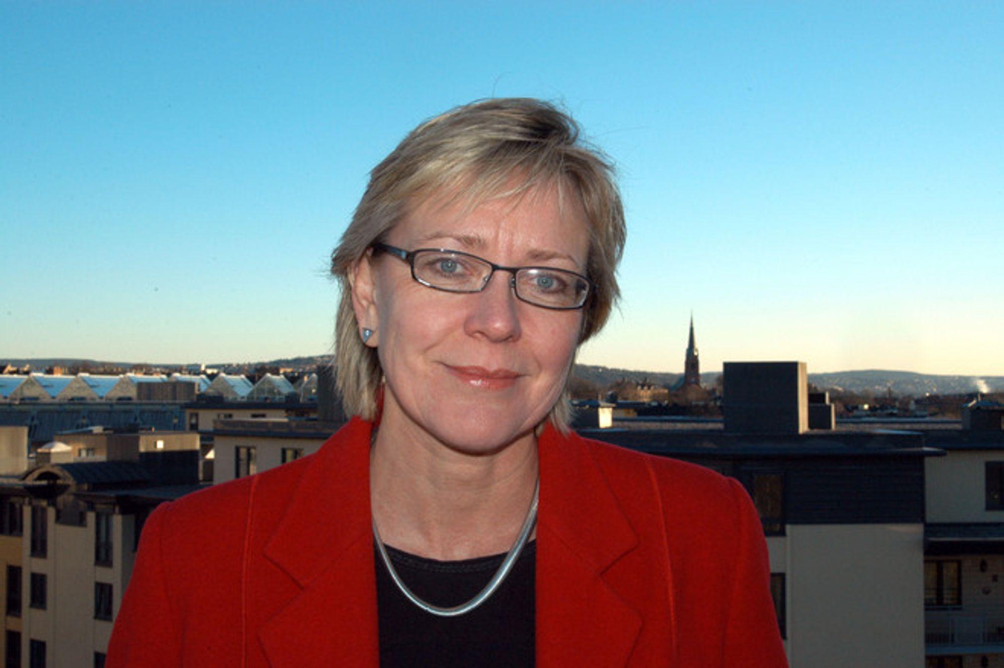 SPENNENDE: Elsbeth Tronstad ser fram til å være med å utvikle SN Power