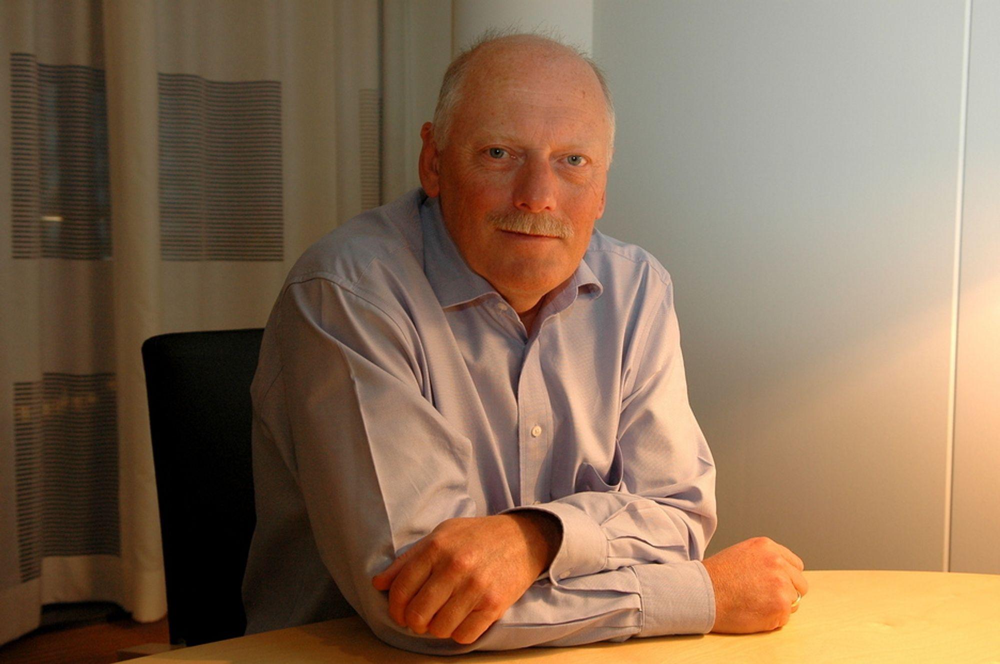 UHELDIG: - Jeg mener fremdeles at fusjonen mellom Statoil og Hydro var riktig for begge selskapene, men at den ikke nødvendigvis var riktig for Norge og for utviklingen på norsk sokkel, sier Kjell Pedersen