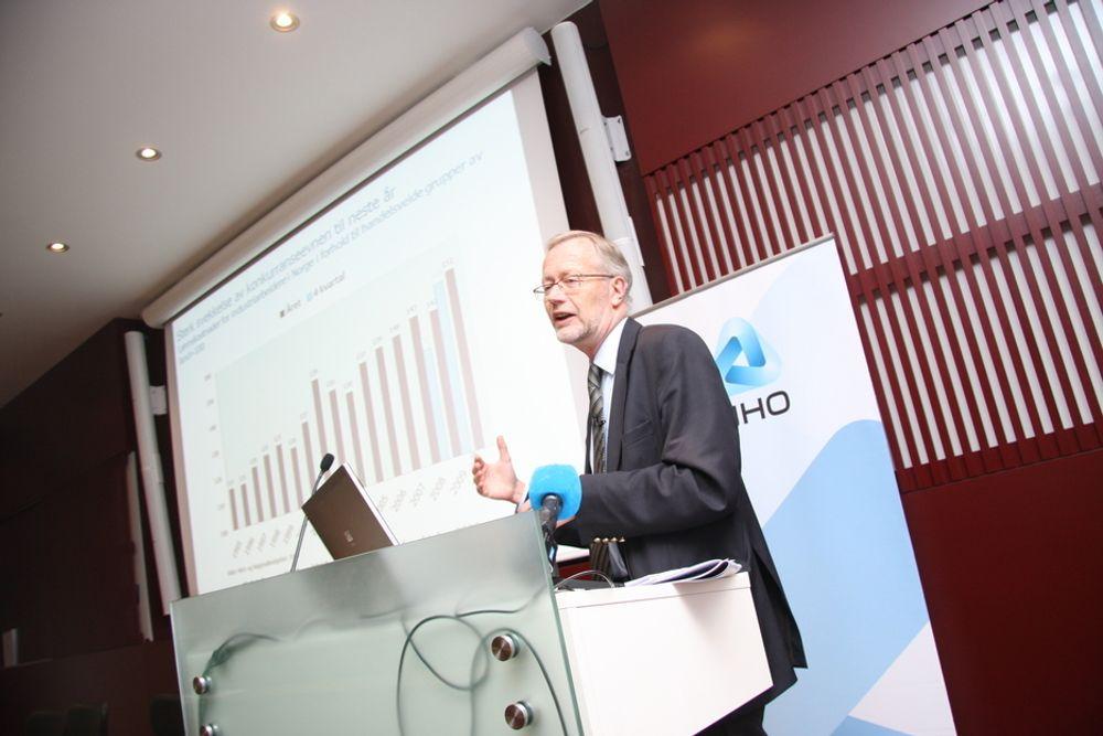 Sjeføkonom Tor Steig i NHO