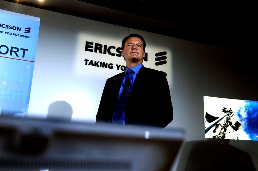 Ericsson-sjef Carl-Henric Svanberg.
