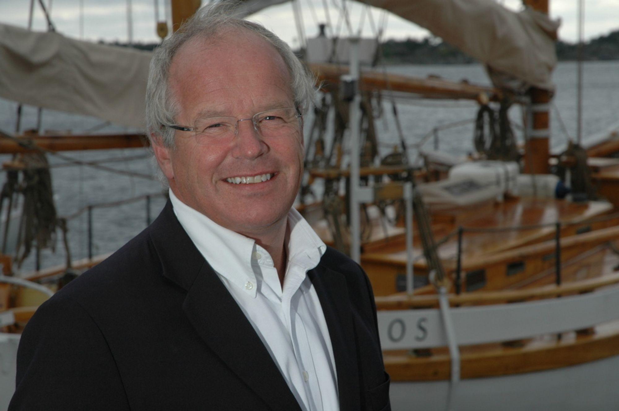 HAR TRO: Konsernsjef Tom Nysted i Agder Energi tror Skanled blir noe av.