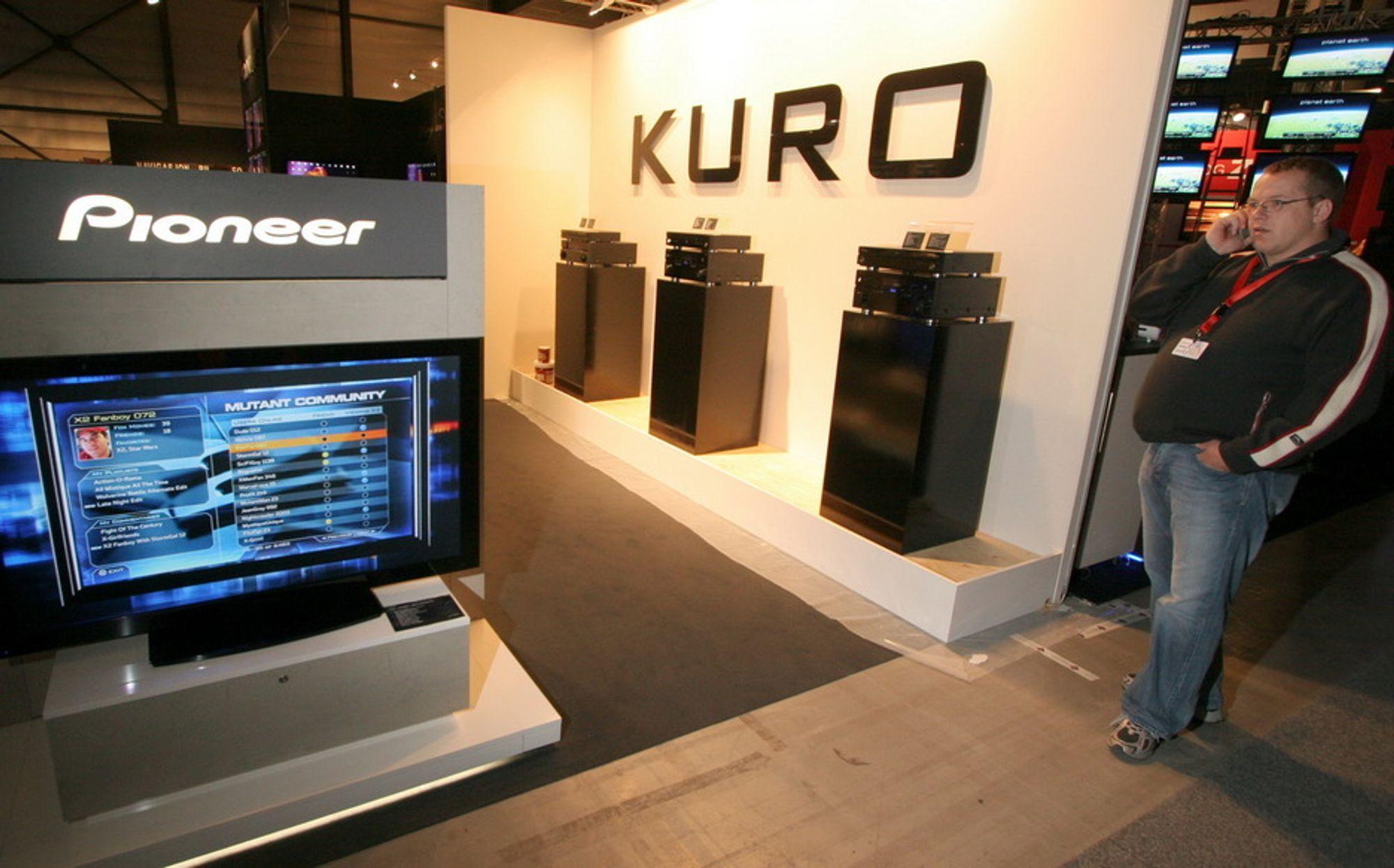 Merk deg navnet Kuro fra Pioneer. Knallskarpe bilder og fet surroundlyd i skjønn forening. Kan man ha det bedre i heimen?