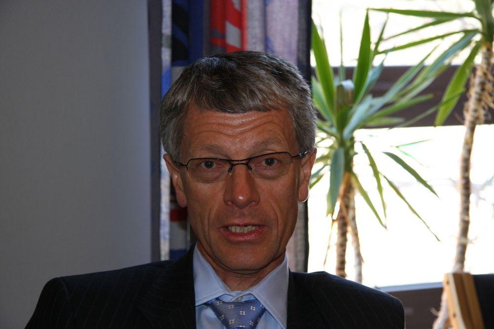 Administrerende direktør Olav Volldal i Kongsberg Automotive mener bedriften ikke har noe annet valg enn lockout ved fabrikken i Ohio.