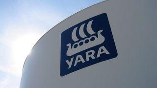 Eksplosjon i Yara-fabrikk