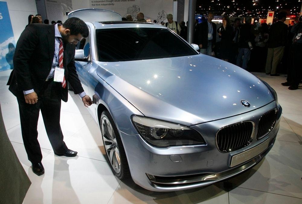 LA Auto Show: BMW Concept 7 serie.