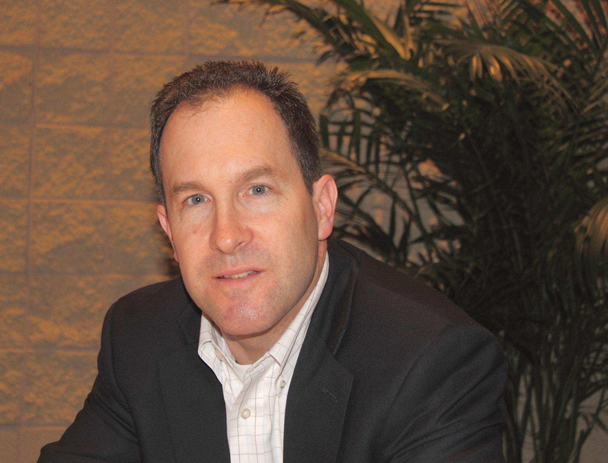 I SMØRØYET:markedssjef Brian Fitzgerald RSA har ingen grunn til å klage. Tilstrømningen av cyberskurker er upåklagelig og sikrer markedet for han og andre i datasikkerhetsbransjen