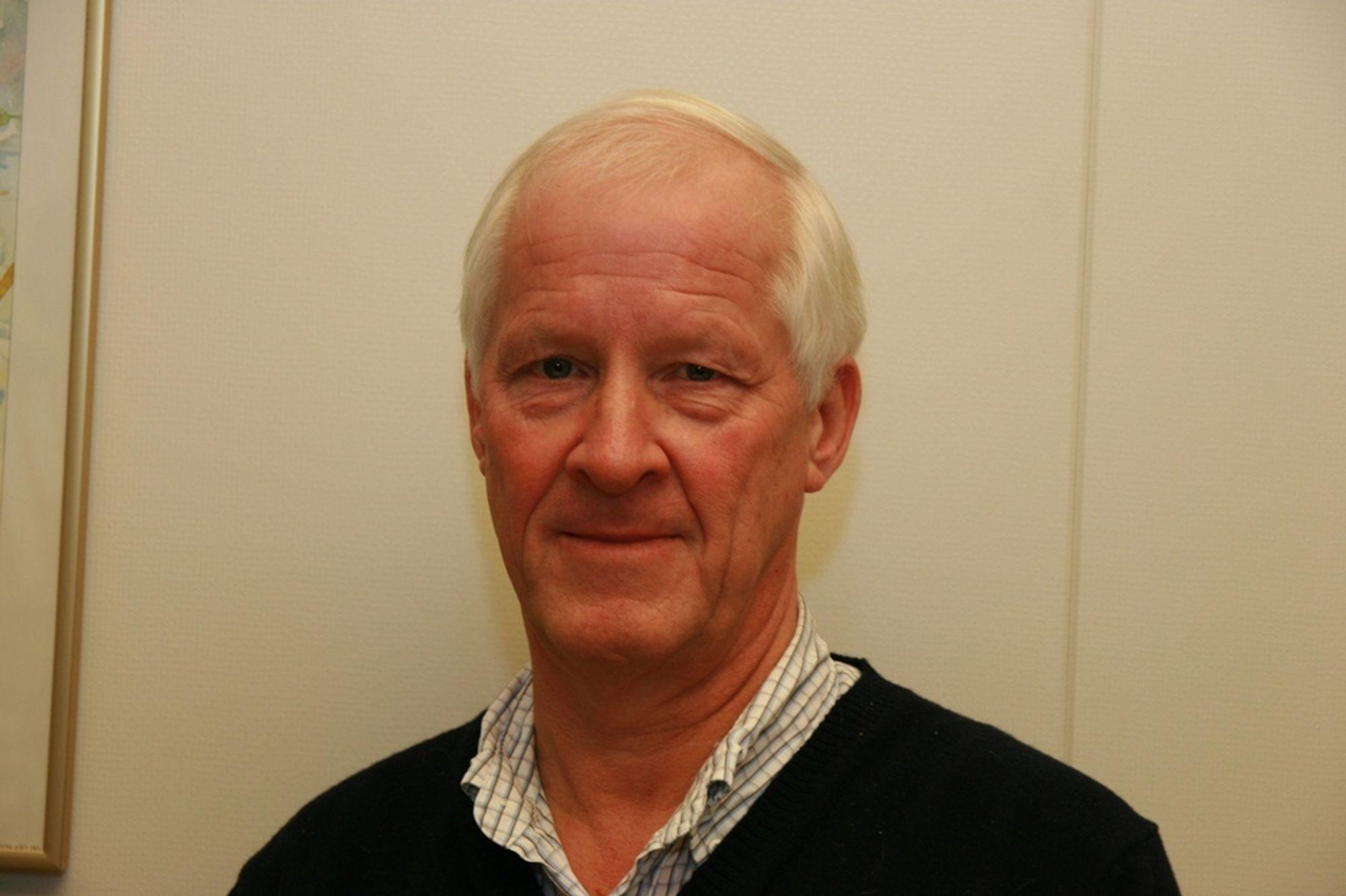 SPENNENDE: Distriktssjef Knut Liavaag i NCC karakteriserer Risa Rock som en spennende virksomhet.