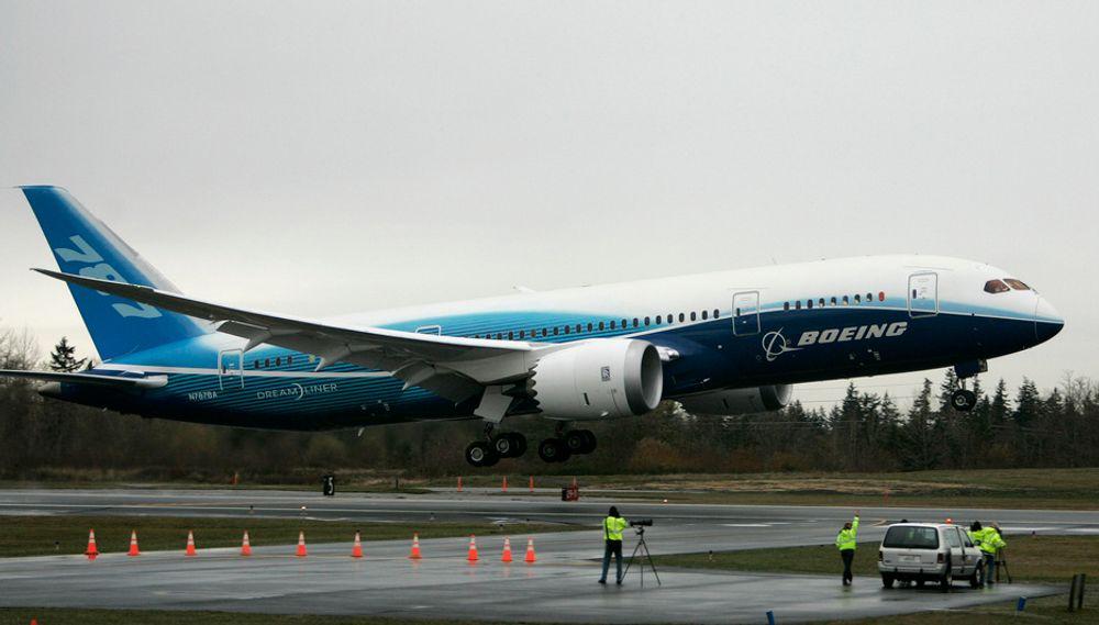 Volvo Aero i Kongsberg produserer en av komponentene til en av motorene i Boeing 787 Dreamliner.