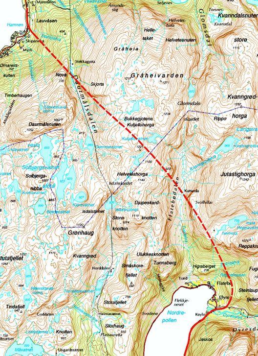 Alle kort angående Jondalstunnelen er omsider lagt. Tunnelen blir nesten 10 km lang. Den åpnes for trafikk mot slutten av 2012.