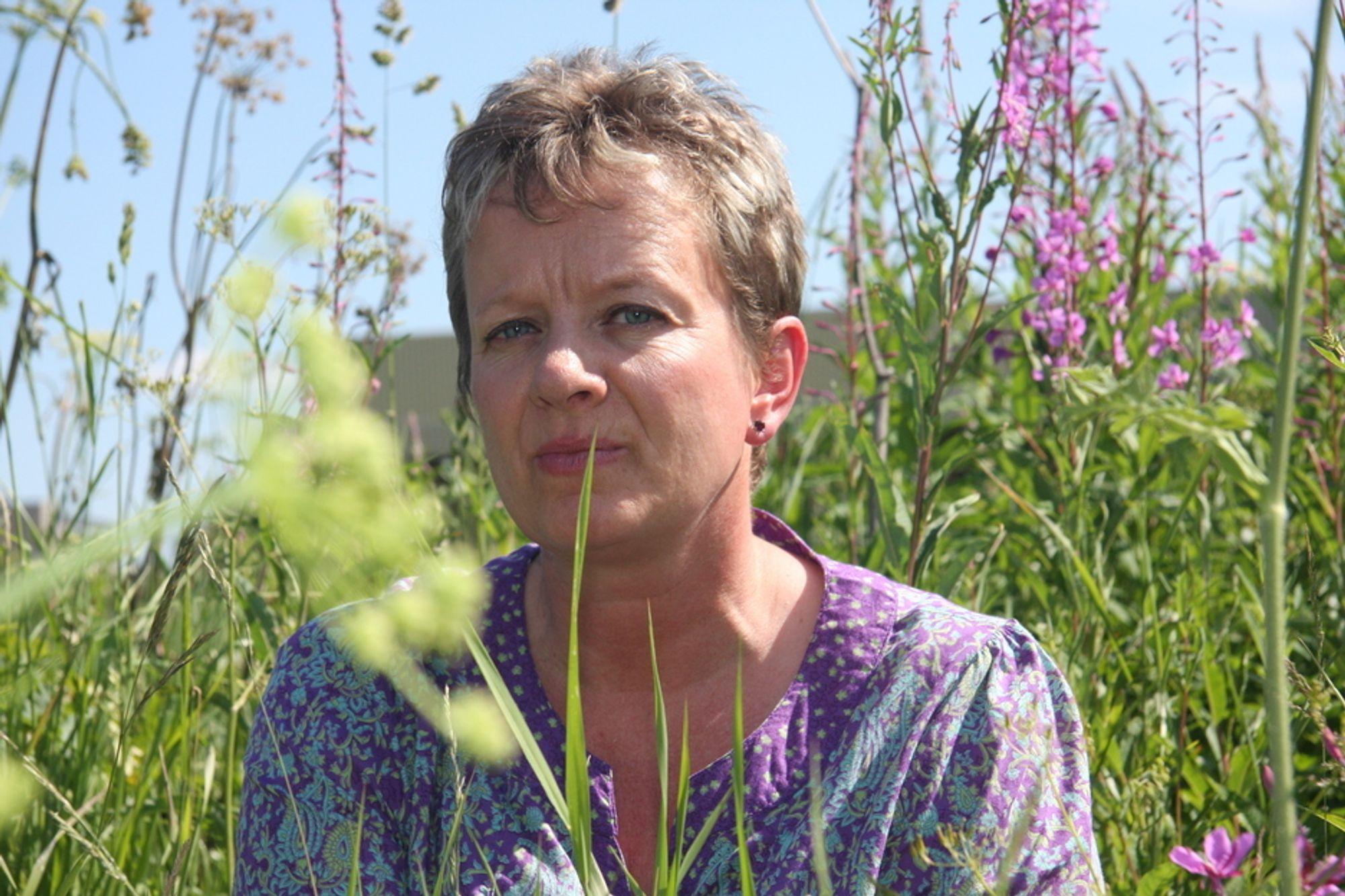 Direktør Janne Sollie i Direktoratet for naturforvaltning er skeptisk til de grønne sertifikatene, som direktoratet mener vil gi ukritiske inngrep i naturen.
