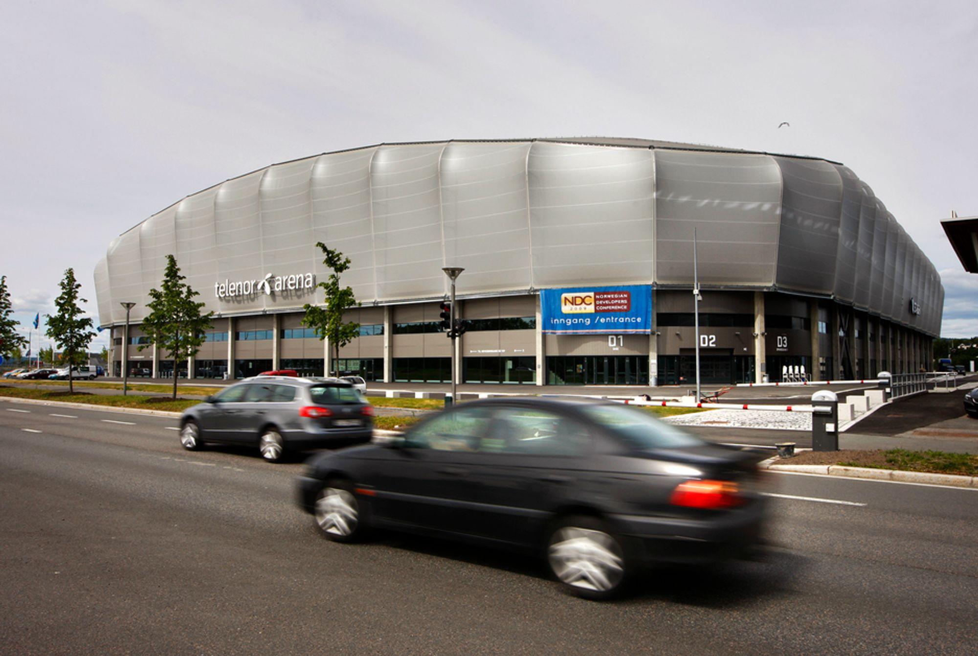 HER: Eurovision Song Contest 2010 skal arrangeres i Fornebu Arena.