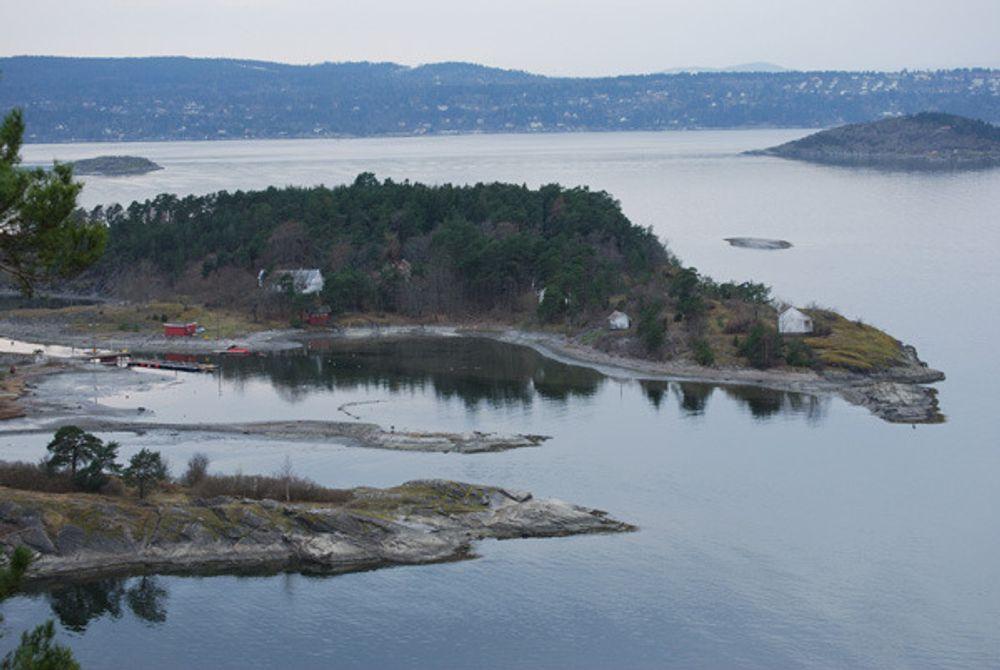 MALMØYKALVEN: Deponiet bak denne øya er fortsatt gjenstand for miljøkrangel.