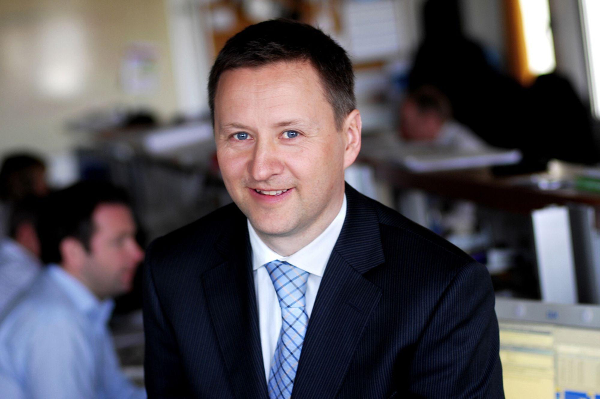 Sjeføkonom Frank Jullum i Fokus Bank har ansvaret for utarbeidelsen av Norsk PMI.