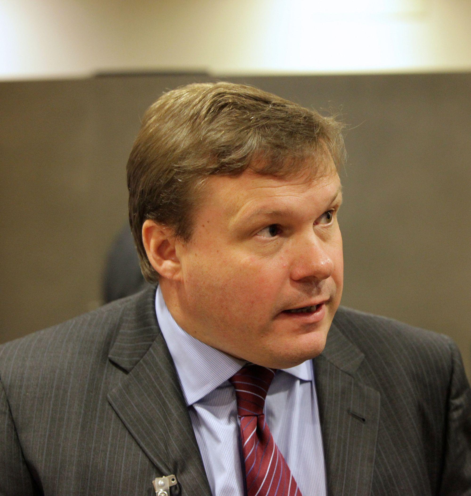 Torbjørn Svensgård, administrerende direktør i FSi, Forsvars- og sikkerhetsindustriens forening.