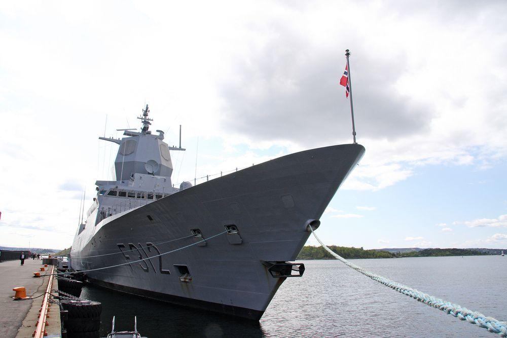 FORSINKET: Fregattene, her representert ved KNM Otto Sverdrup, er ett av prosjektene til Forsvaret som har vært forsinket.