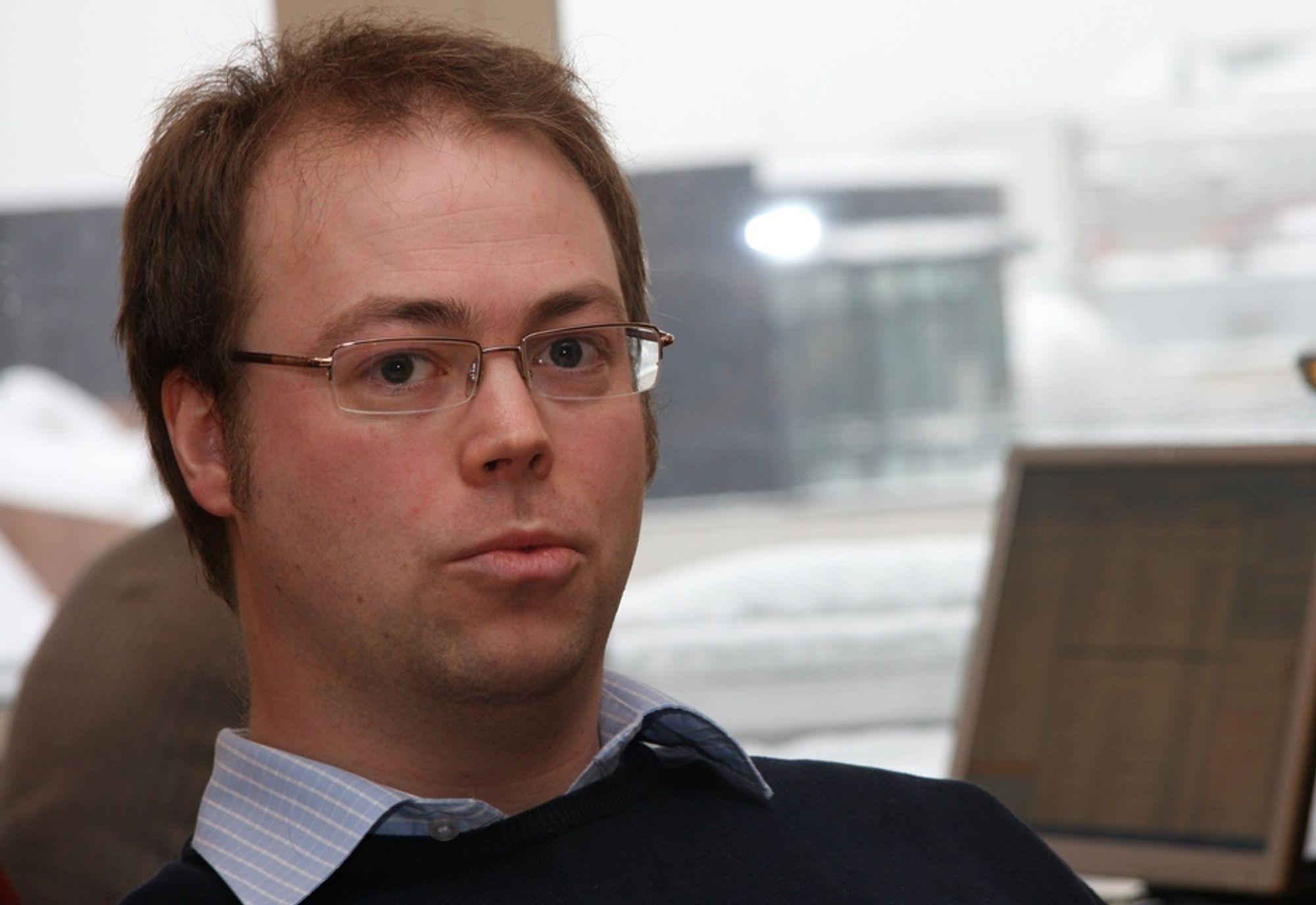 """Christian Bull, delprosjektleder """"e-valg 2011"""" - sikkerhet og teknisk løsning, Kommunal- og regionaldepartementet."""