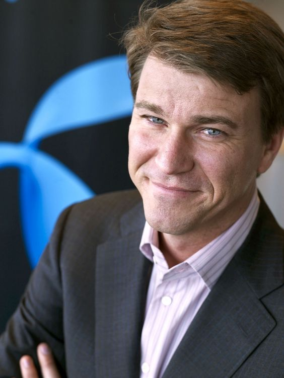 Bytter beite: Grameenphone-sjef Anders Jensen reiser til Ungarn.