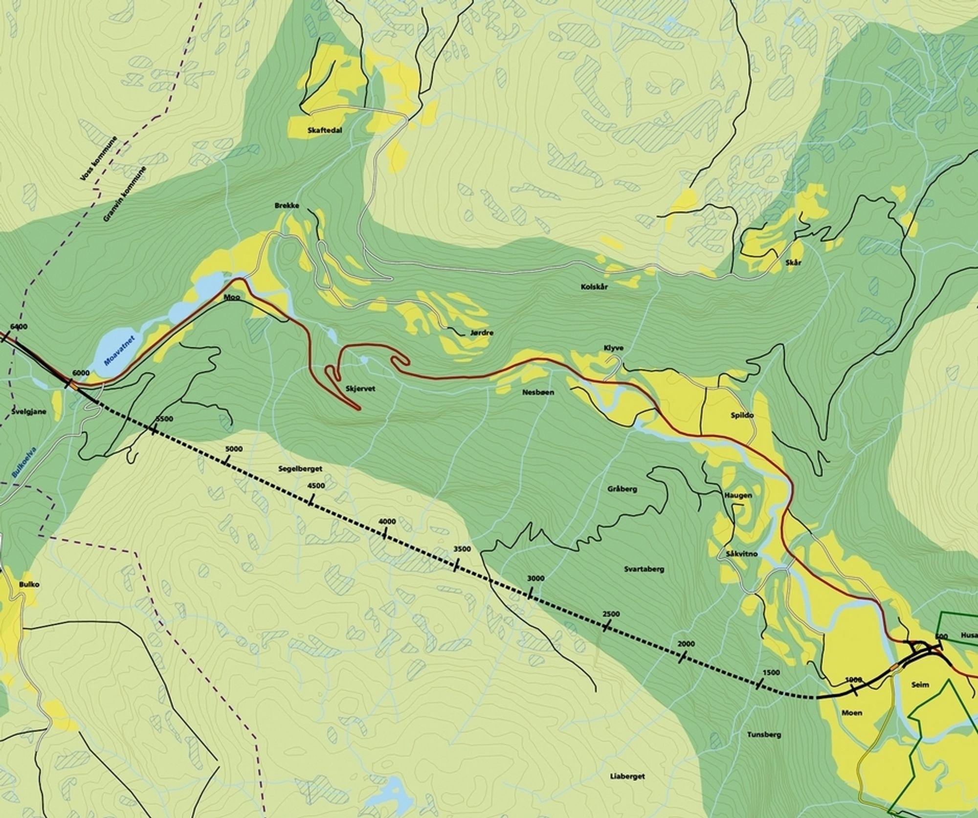 Alt tyder på at Veidekke skal drive den 4 km lange tunnelen som fjerner hårnålsvingene langs Skjervet fra riksvegnettet.