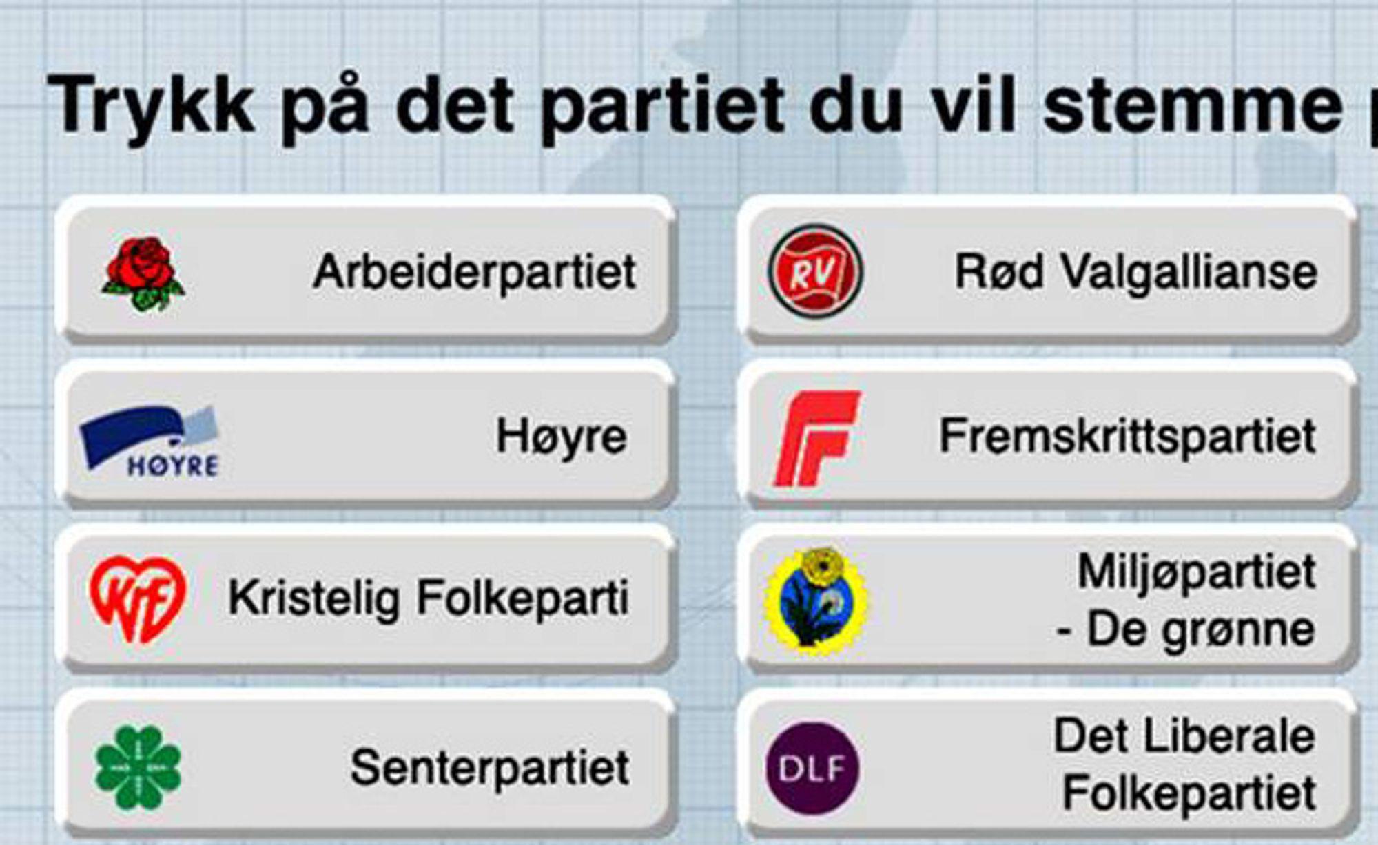 I noen kommuner kan valget i 2011 skje på nettet.