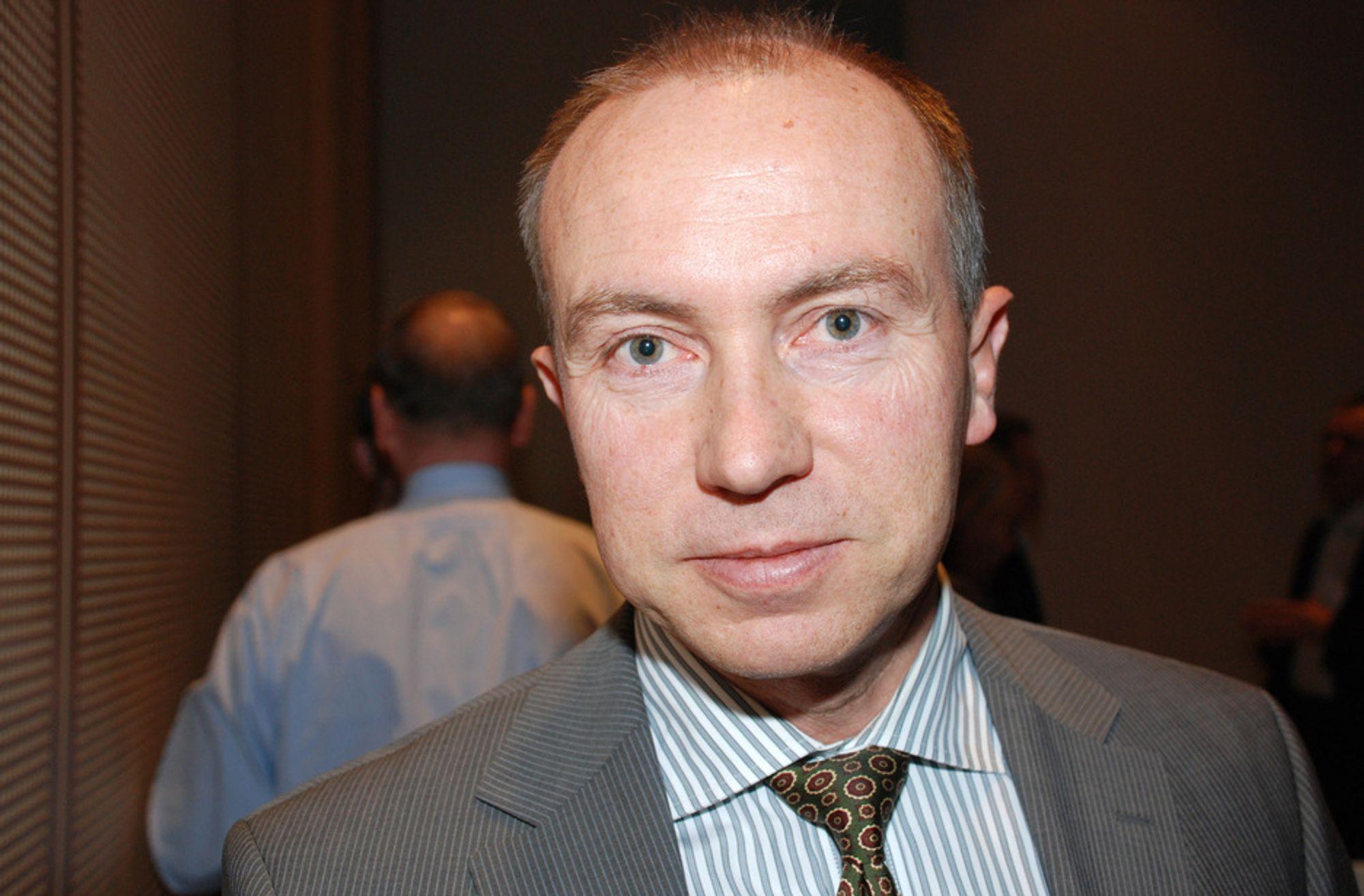 Konsernsjef Christian Rynning-Tønnesen i Norske Skog.