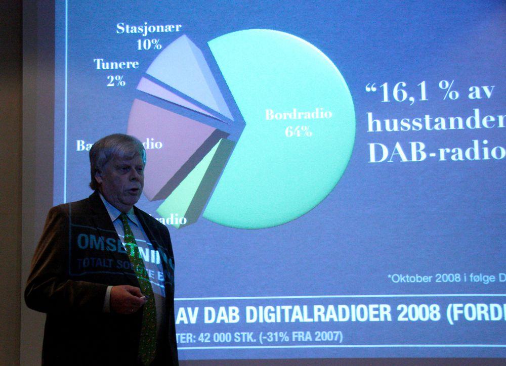 BRA FJORÅRInformasjonssjef i Elektronikkbransjen, Erik Andersen kan melde om at 2008 var et bra år for de som solgte forbrukerelektronikk.