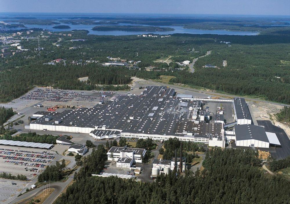 THINK-FABRIKKEN: Her i Uusikaupunki ved den finske sørvest-kysten ligger fabrikken til Valmet Automotive, som skal produsere Think. Det vil øke arbeidsstokken med 100 ansatte i løpet av 2010.