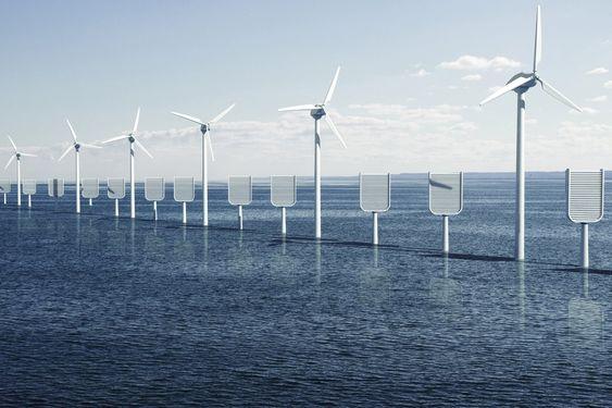 Britisk rapport om klimatiltak. CO2-fangende kunstige trær til havs.