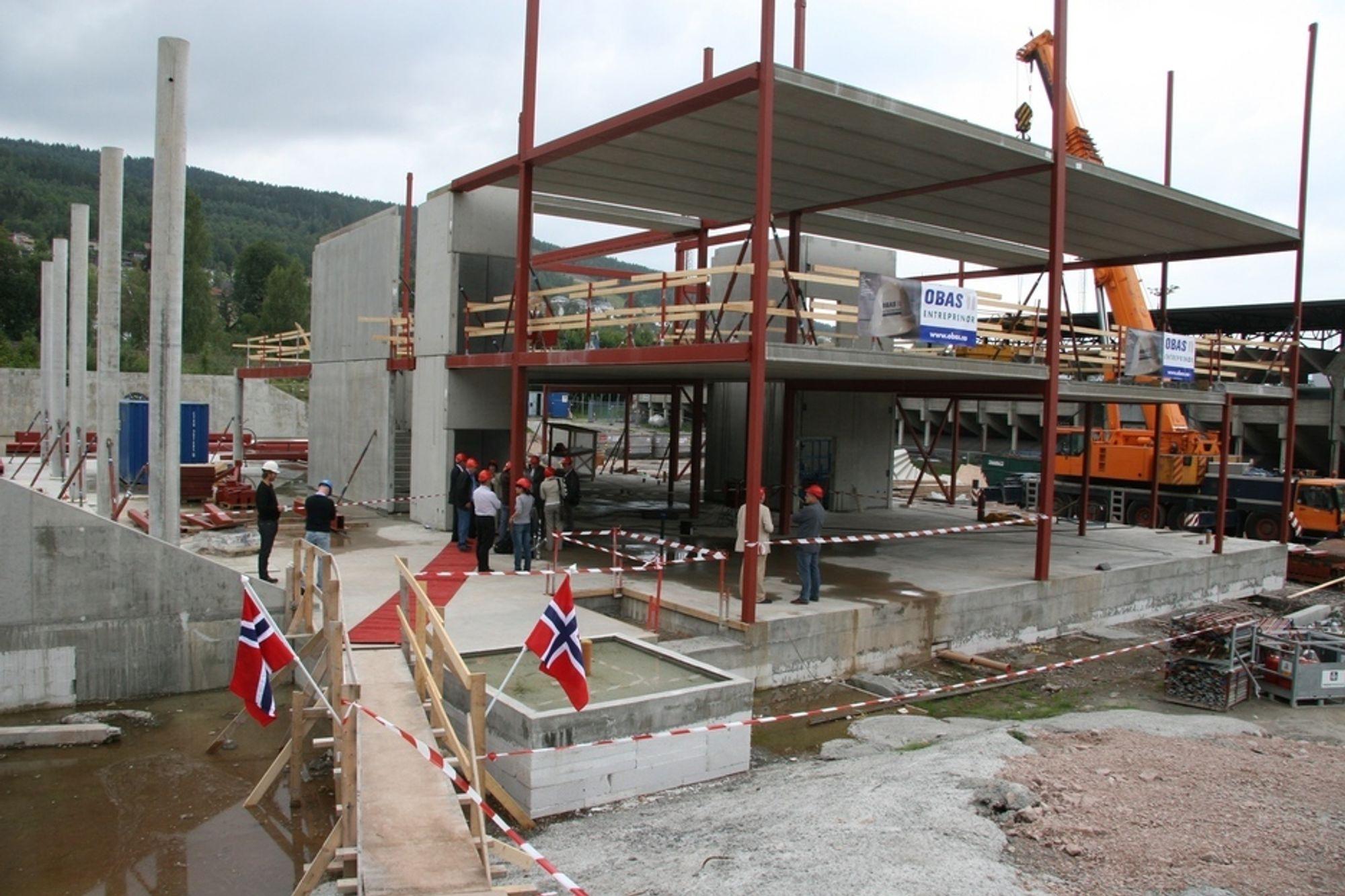 HØYE MÅL: Marienlyst skole skal være ferdig til skolestart i 2010, da skal energibruken ikke overstige 75 kWh/m2/år.