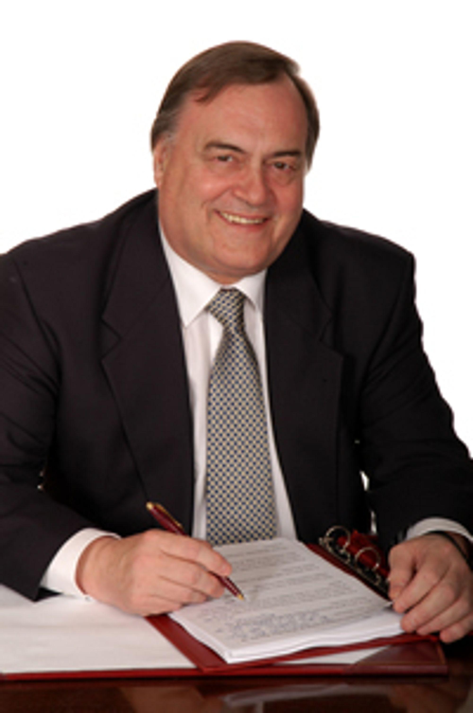 John Prescott, tidligere deputy prime minister (visestatsminister) for Labour.