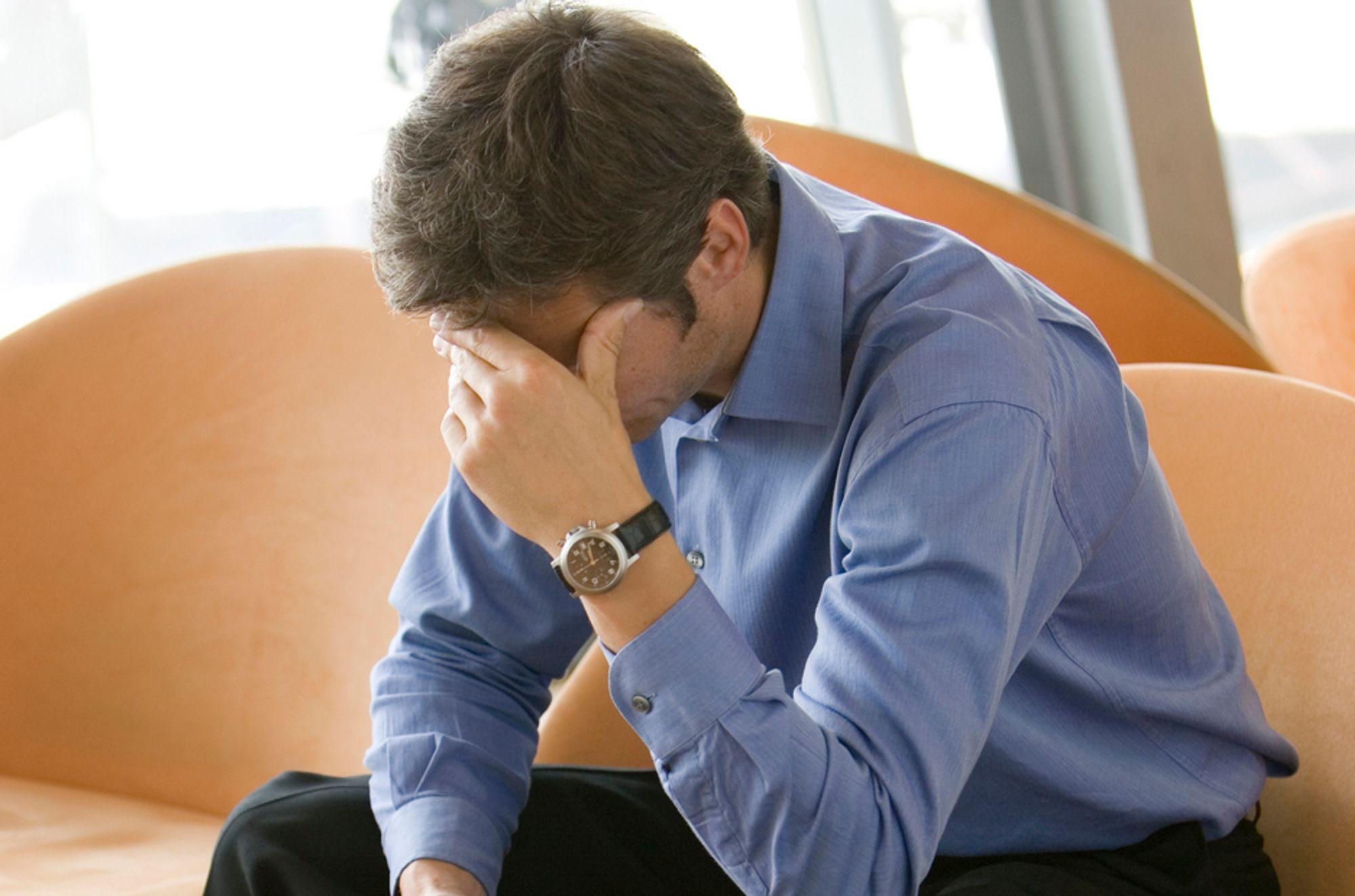 TALL: Ansatte innen bank og forsikring opplever ofte trusler.