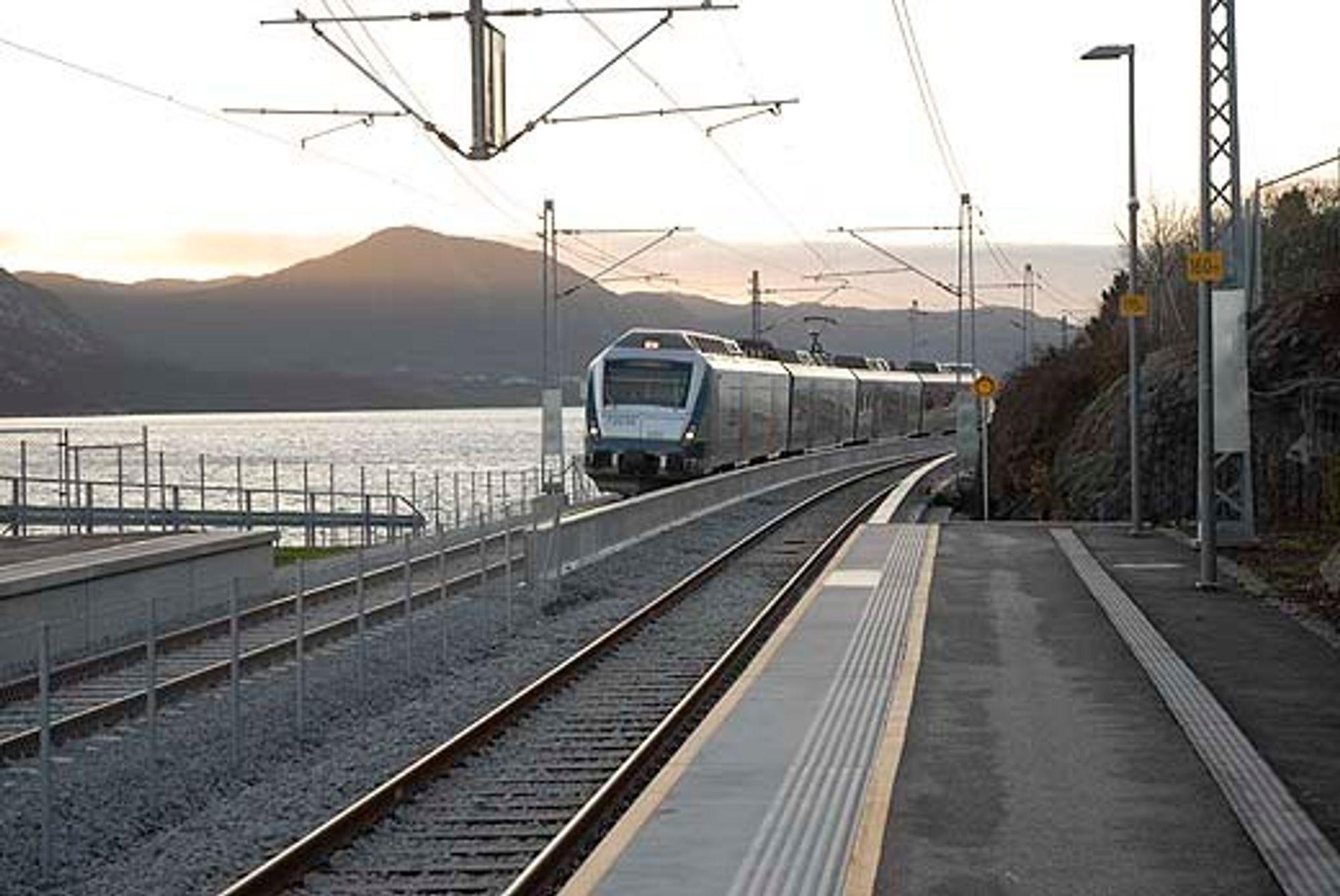 RAMMES: Sandnes - Stavanger har fått installert et midlertidig signalanlegg til Merkur skulle bli klart. Nå dumper Jernbaneverket hele Merkur.