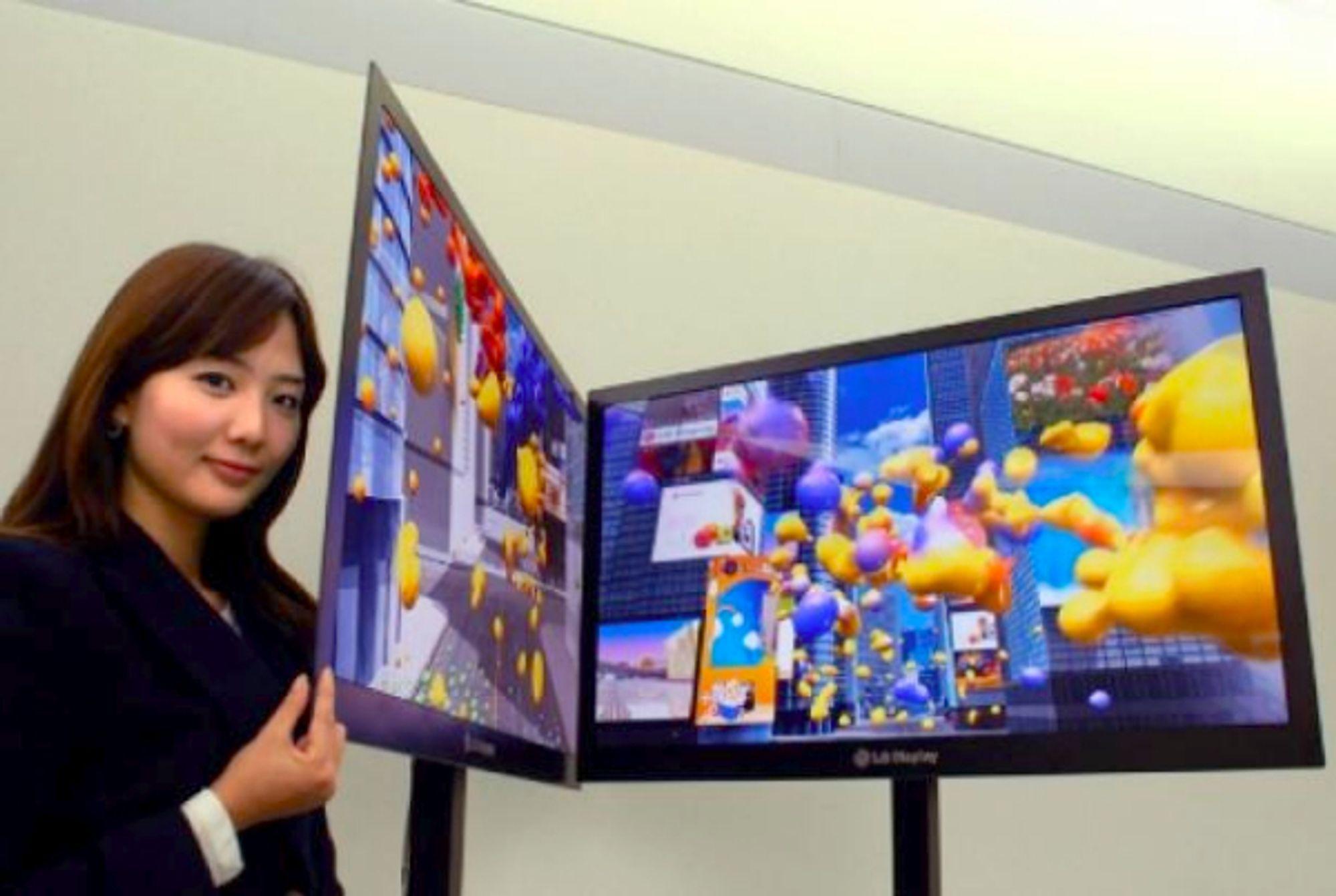 LGs nye LED-baklyste TV er bare 2,6 millimeter tykk.