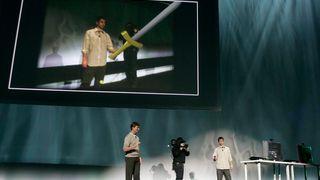 Sony med bevegelsessensor