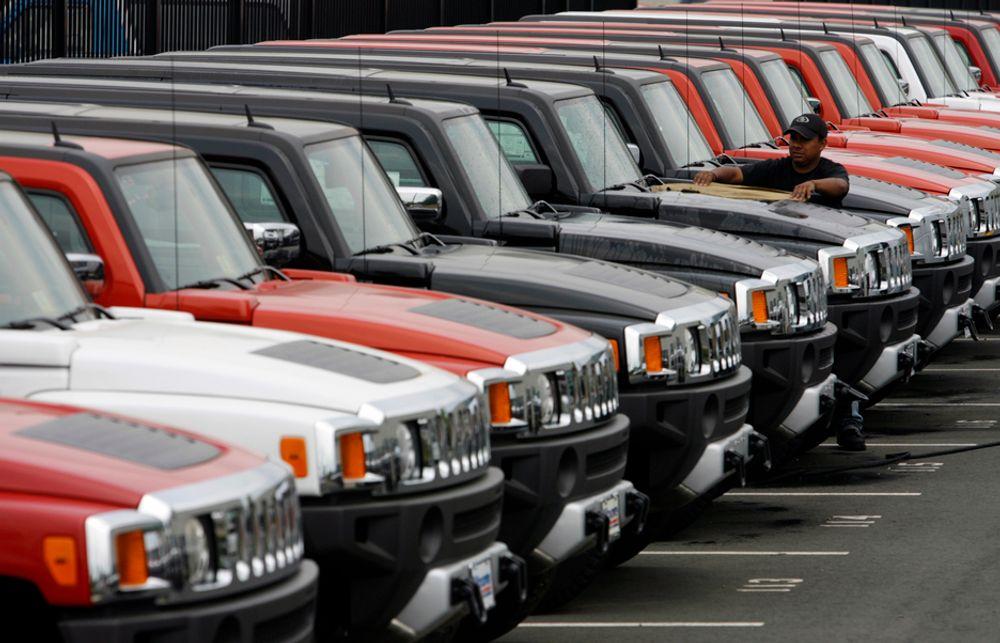 GM selger Hummer-merket til kinesiske Tengzhong.
