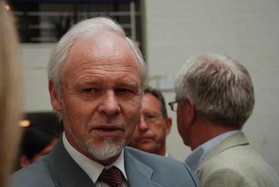 Lansering av Intpow 2. juni 2009. Bjørn Blaker, styreformann Intpow.