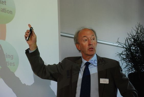 Lansering av Intpow 2. juni 2009. Gulbrand Wangen, Intsok.