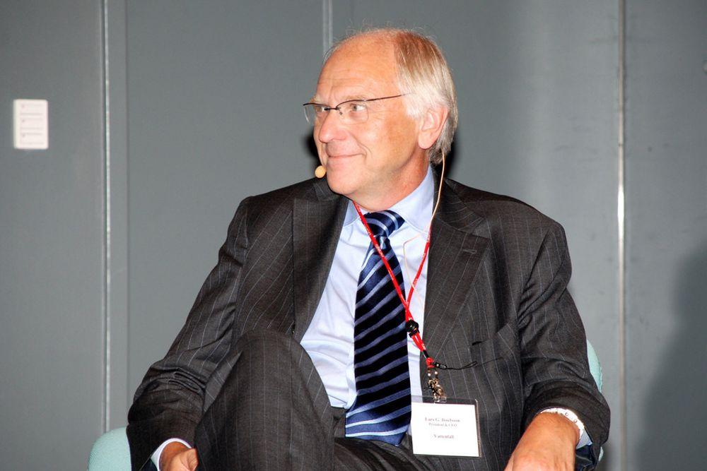 Vattenfalls administrerende direktør Lars G. Josefsson går av i løpet av noen uker, melder styreleder Lars Westerberg.