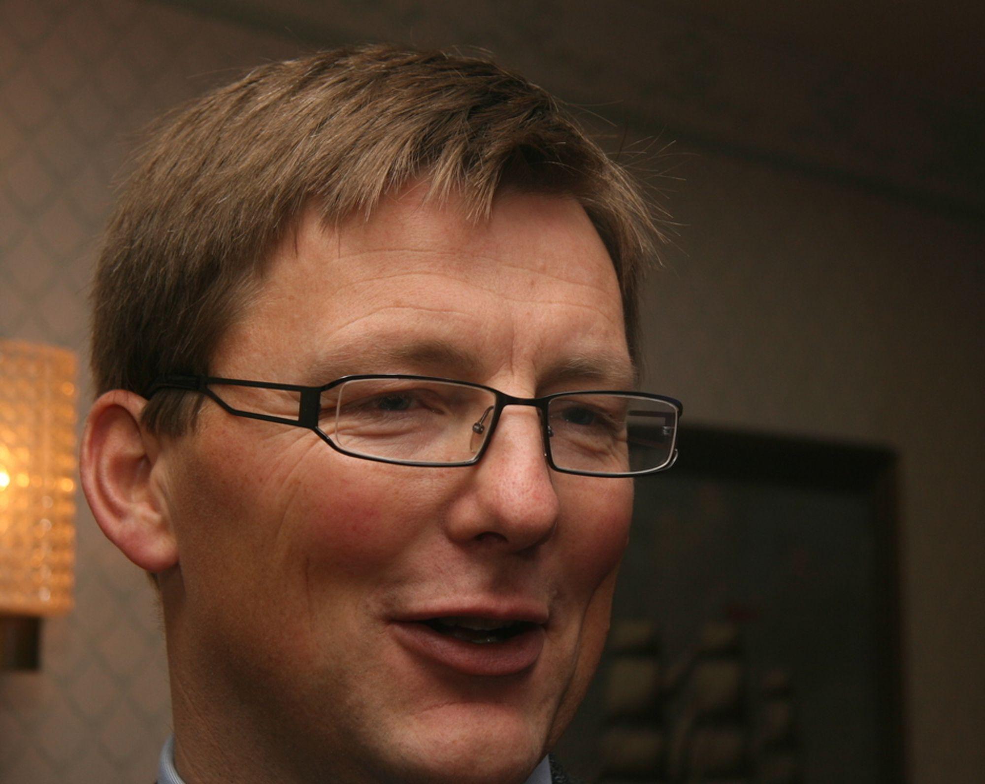 INGEN KRISE: Pål Egil Rønn i AF Gruppen vil ikke være med på at det har vært noen krise, kun en bølgedal.