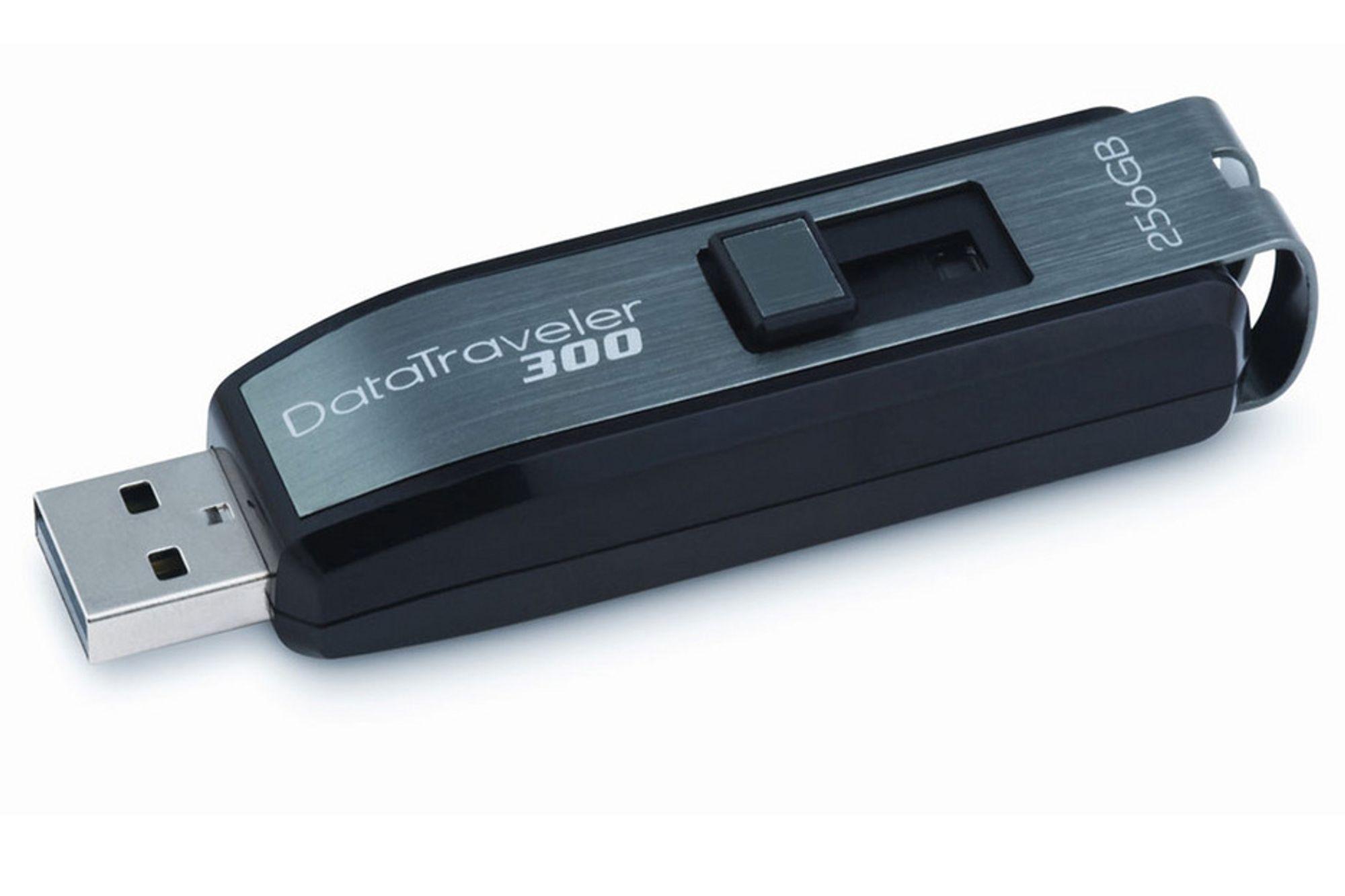 Kingston vil ta opp kampen med eksterne harddisker med sin nye DataTraveler 300.